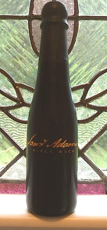 Sam Adams Triple Bock bottle