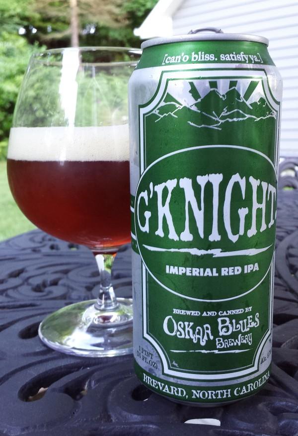 Oskar Blues G'Knight Imperial Red Ale