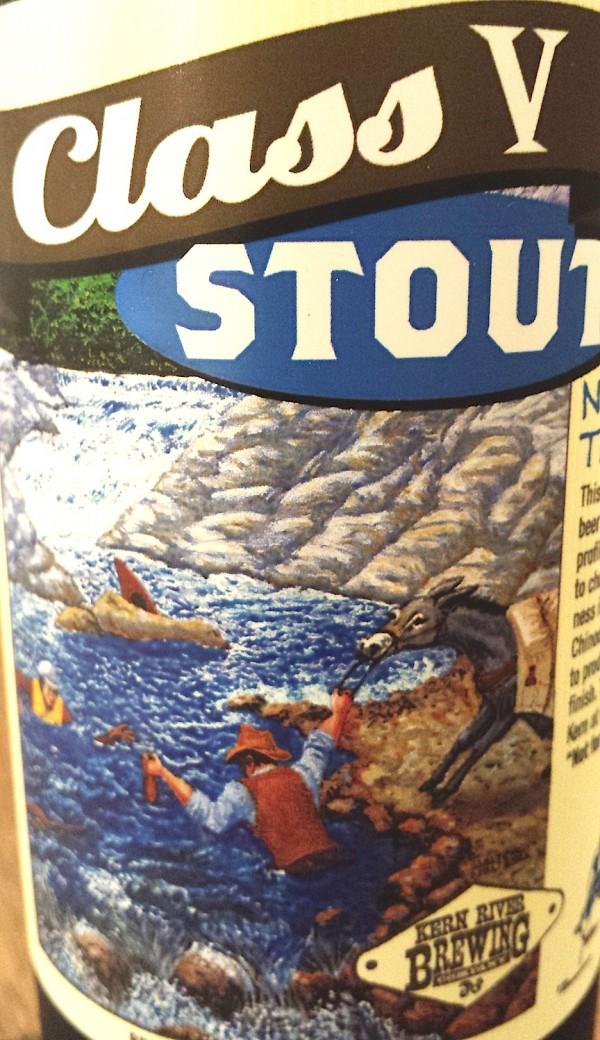 Class V Stout Kern River Brewing