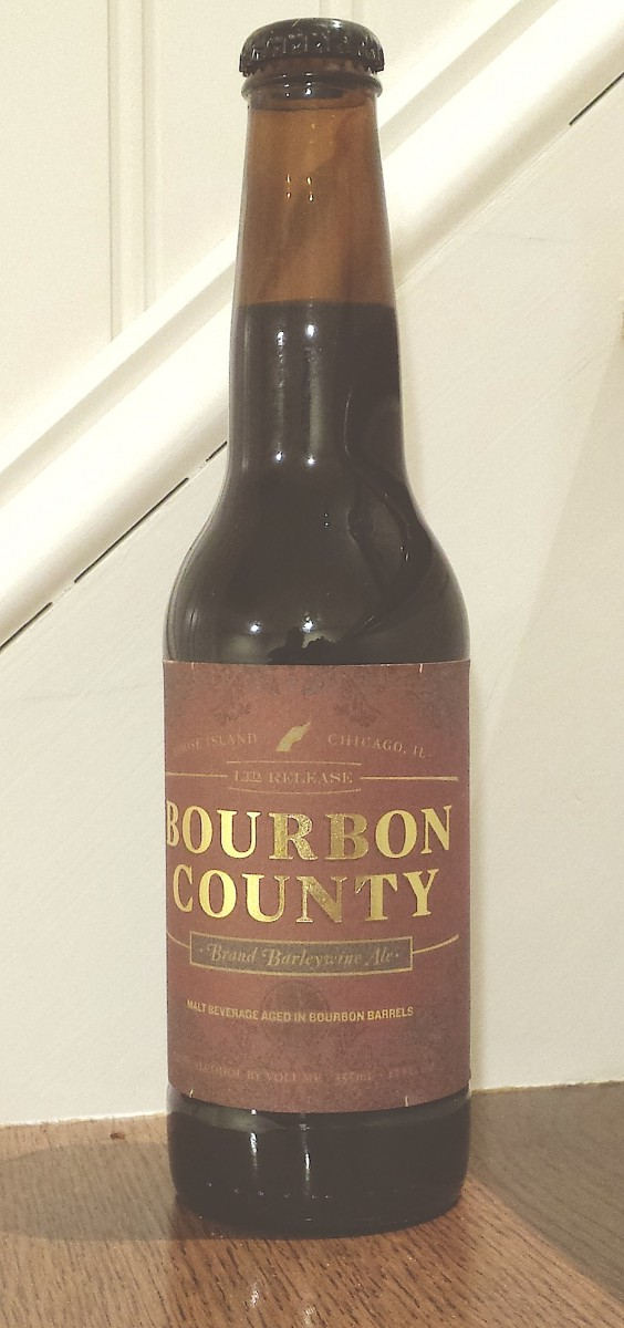 Bourbon County Brand Barleywine by Goose Island, Chicago, Illinois