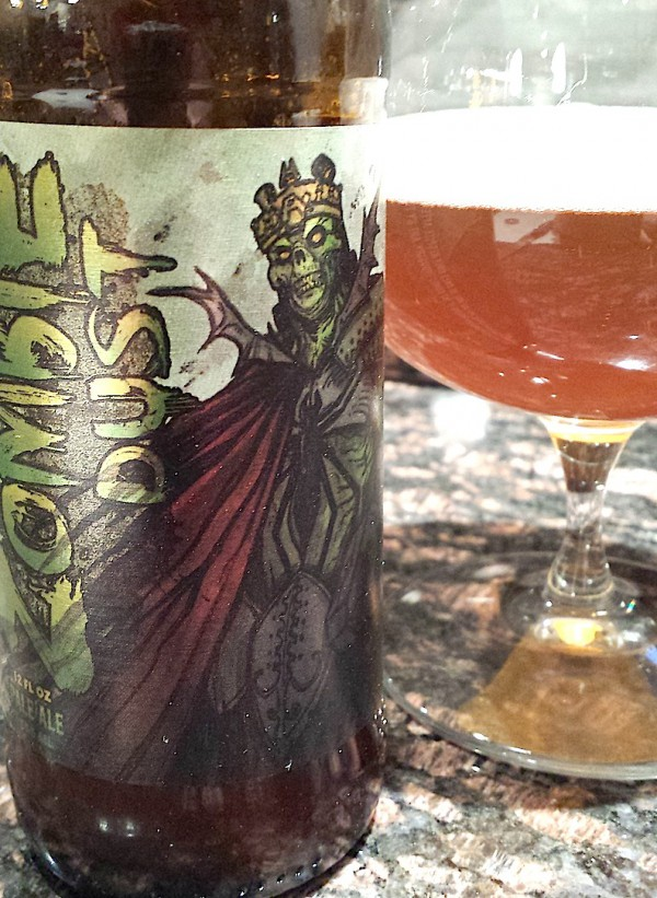 Zombie Dust Pale Ale by Three Floyds Brewing, Muncie, Indiana