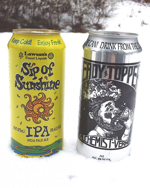Sip of Sunshine versus Heady Topper