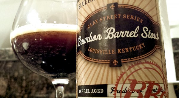 Bluegrass Brewing Clay Street Bourbon Barrel Stout BBC
