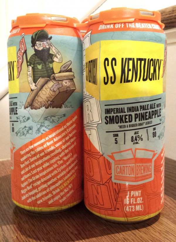 SS Kentucky by Carton Brewing Atlantic Highlands, NJ