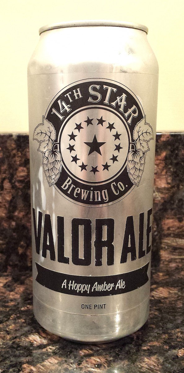 Valor Ale by 14th Star Brewing