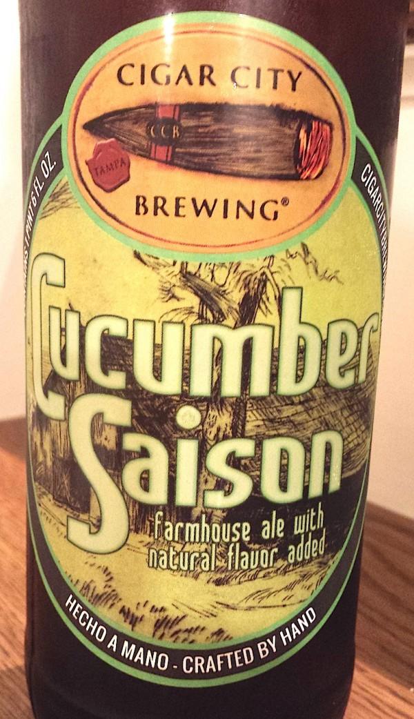 Cucumber Saison by Cigar City