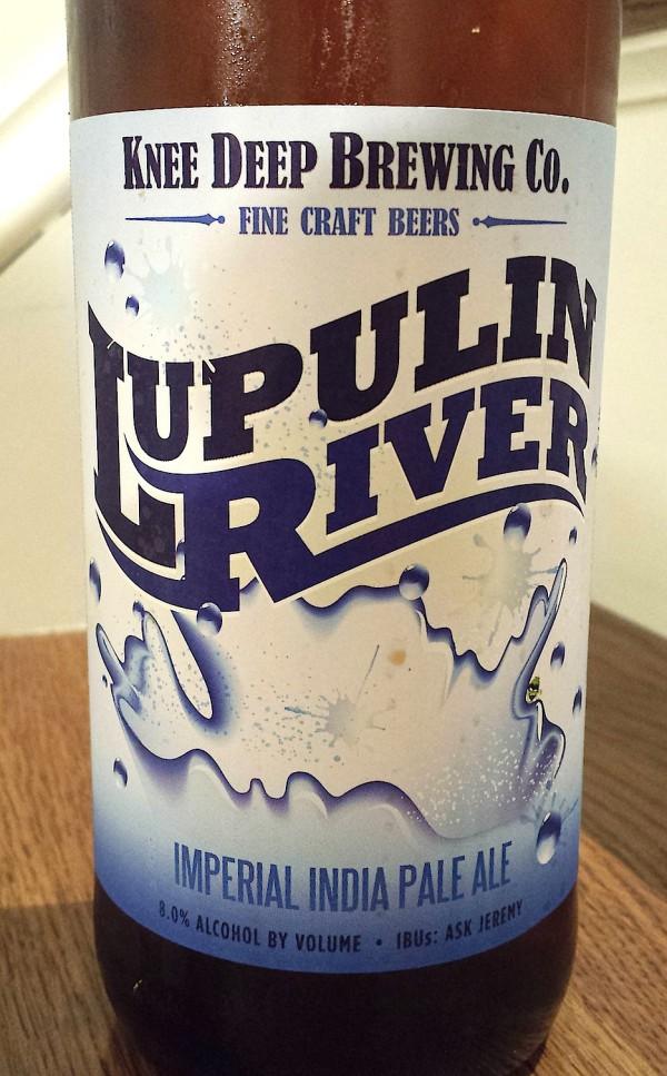 Lupulin River by Knee Deep Brewing