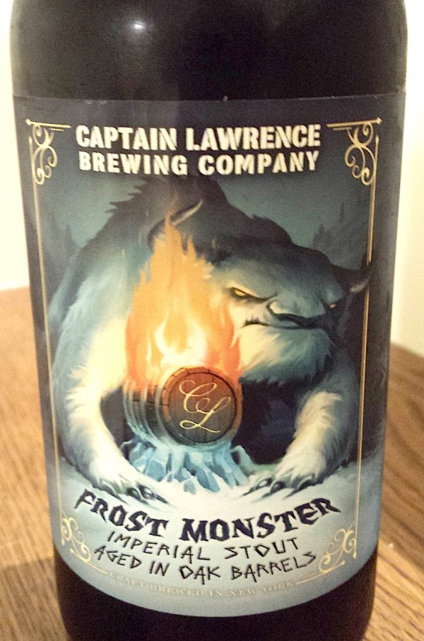 Barrel-Aged Frost Monster by Captain Lawrence Brewing