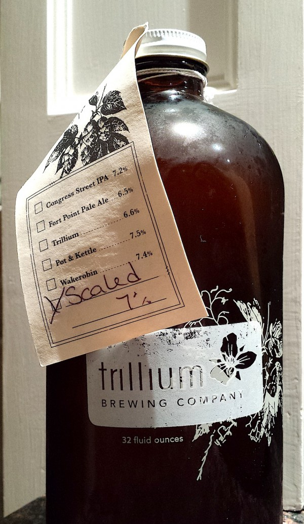Scaled IPA by Trillium Brewing Company