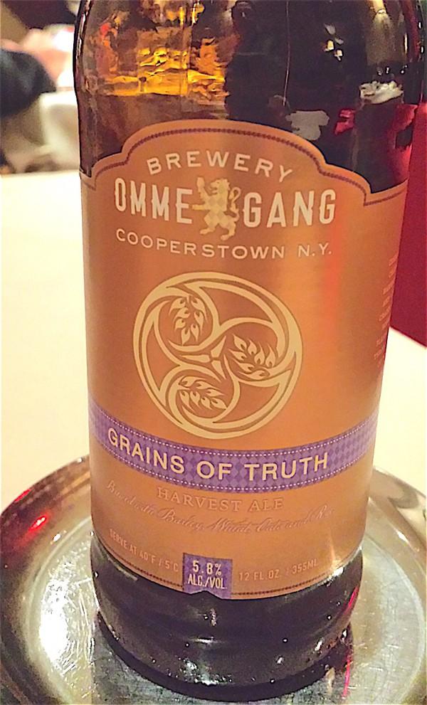 Ommegang Grains of Truth Harvest Ale