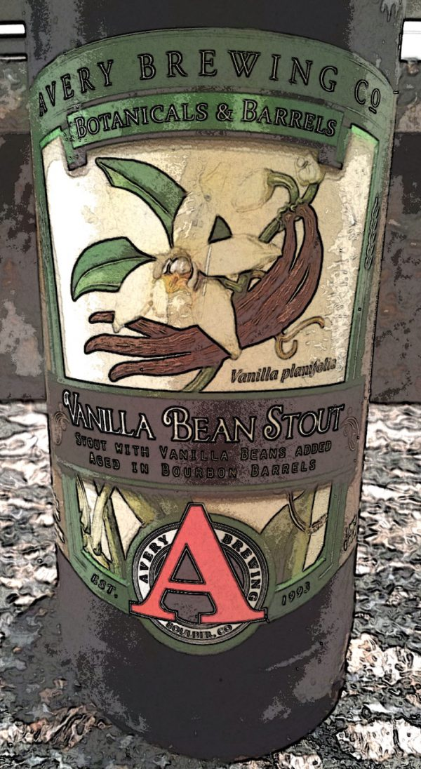 Vanilla Bean Stout, a bourbon-barrel aged stout by Avery Brewing Company, Colorado