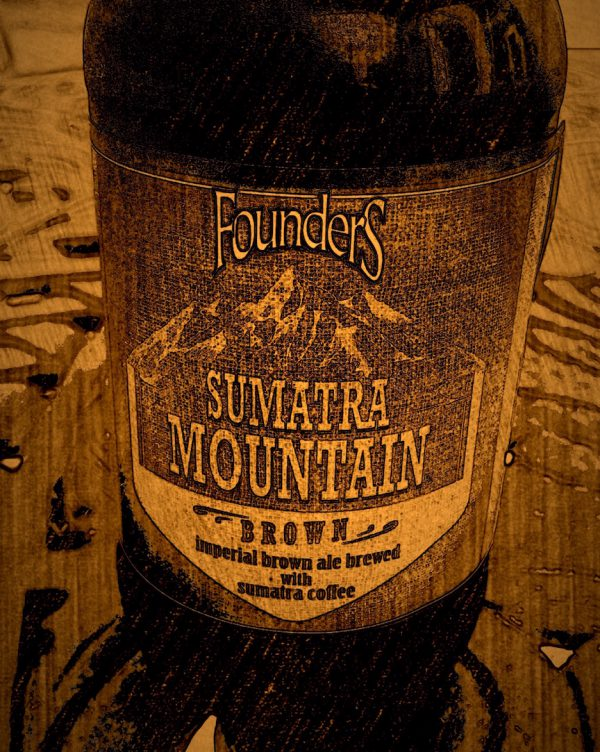 Sumatra Mountain Brown Ale by Founders Brewing, Michigan