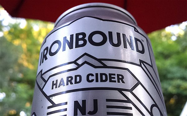 Ironbound Hard Cider by Jersey Cider Works, Hunterdon County, NJ