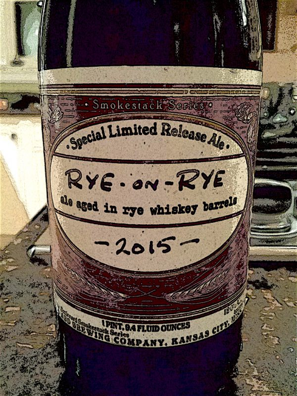 Boulevard Brewing Rye-on-Rye