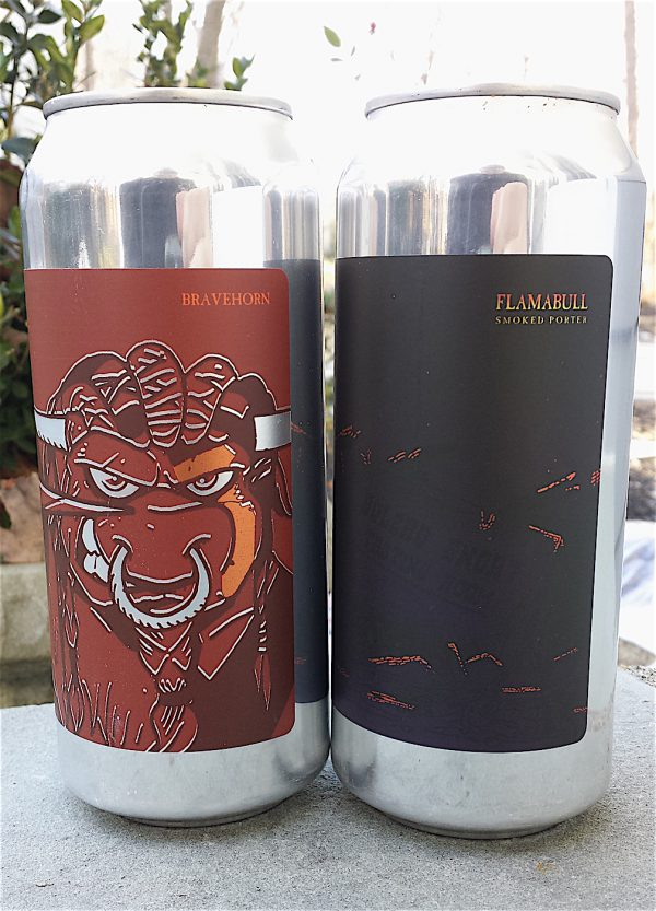 Bravehorn and Flamabull by Bolero Snort Brewing