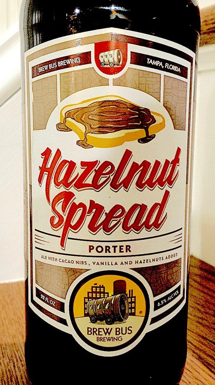 Hazelnut Spread Porter by Brew Bus (brewed by Brew Hub)