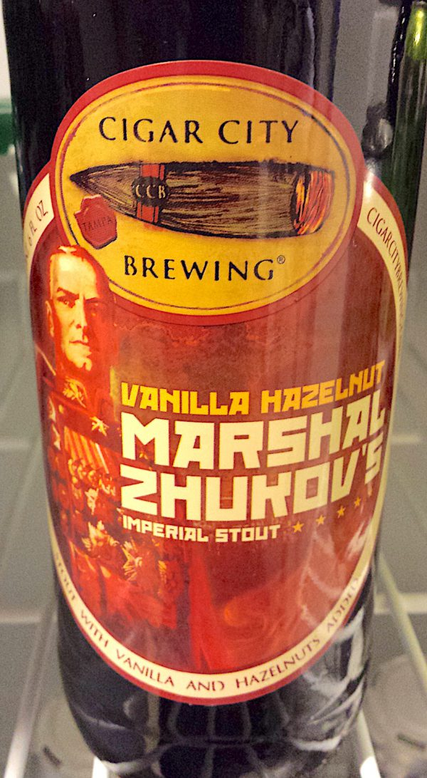 Vanilla Hazelnut Marshal Zhukov by Cigar City Brewing