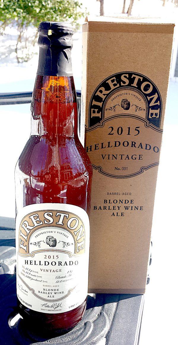 Helldorado Blond Barley Wine Ale by Firestone Walker