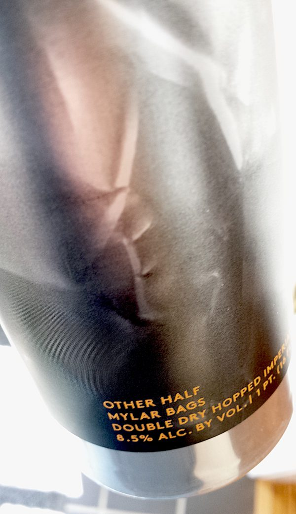 Mylar Bags Imperial IPA by Other Half