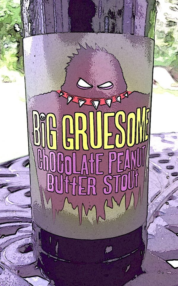 Big Gruesome Chocolate Peanut Butter Stout by Spring House Brewing Company