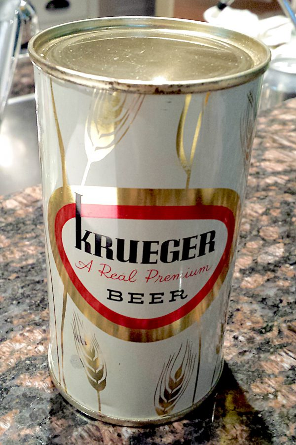 Krueger Beer Can 1957