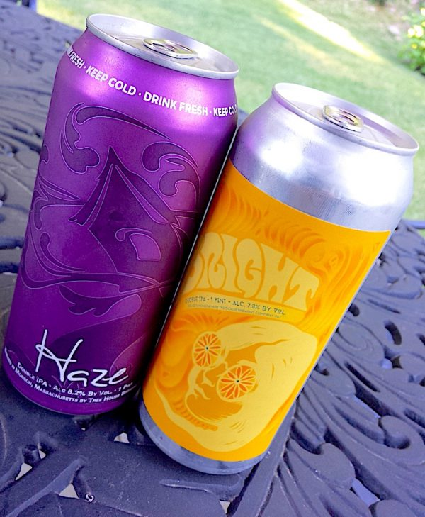 Tree House Brewing Company, Haze and Bright Citra