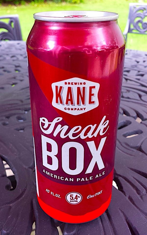 Sneak Box (formerly Hop Lab Citra) an American Pale Ale by Kane Brewing Company