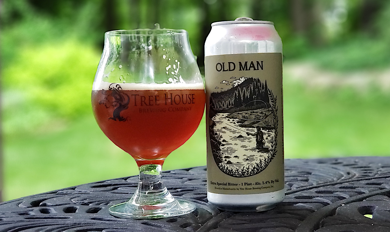Old Man Extra Special Bitter by Tree House Brewing, Charlton, Massachusetts