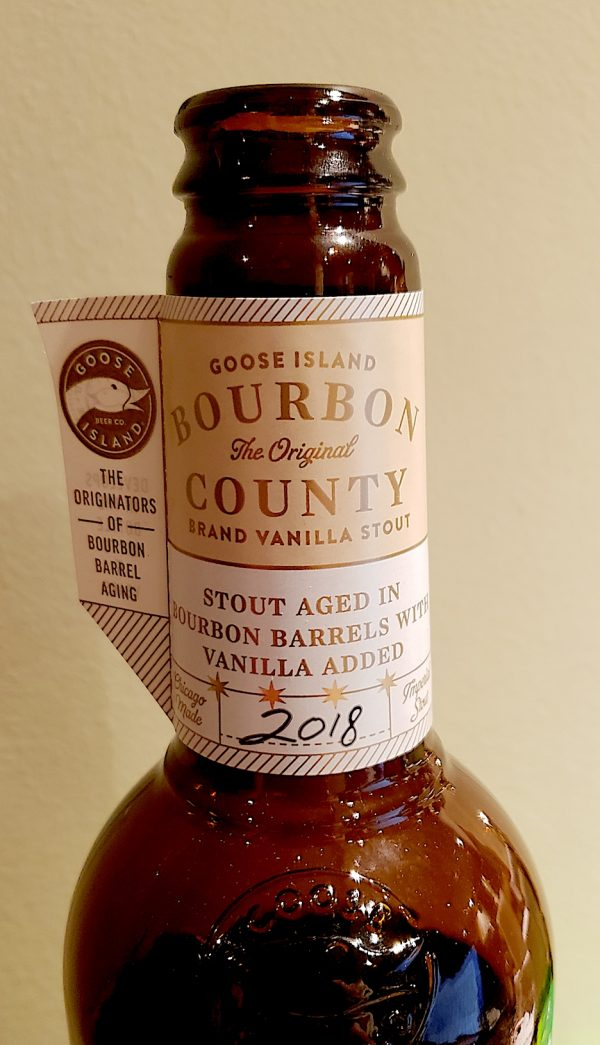 2018 Goose Island Bourbon County Brand Stout Vanilla