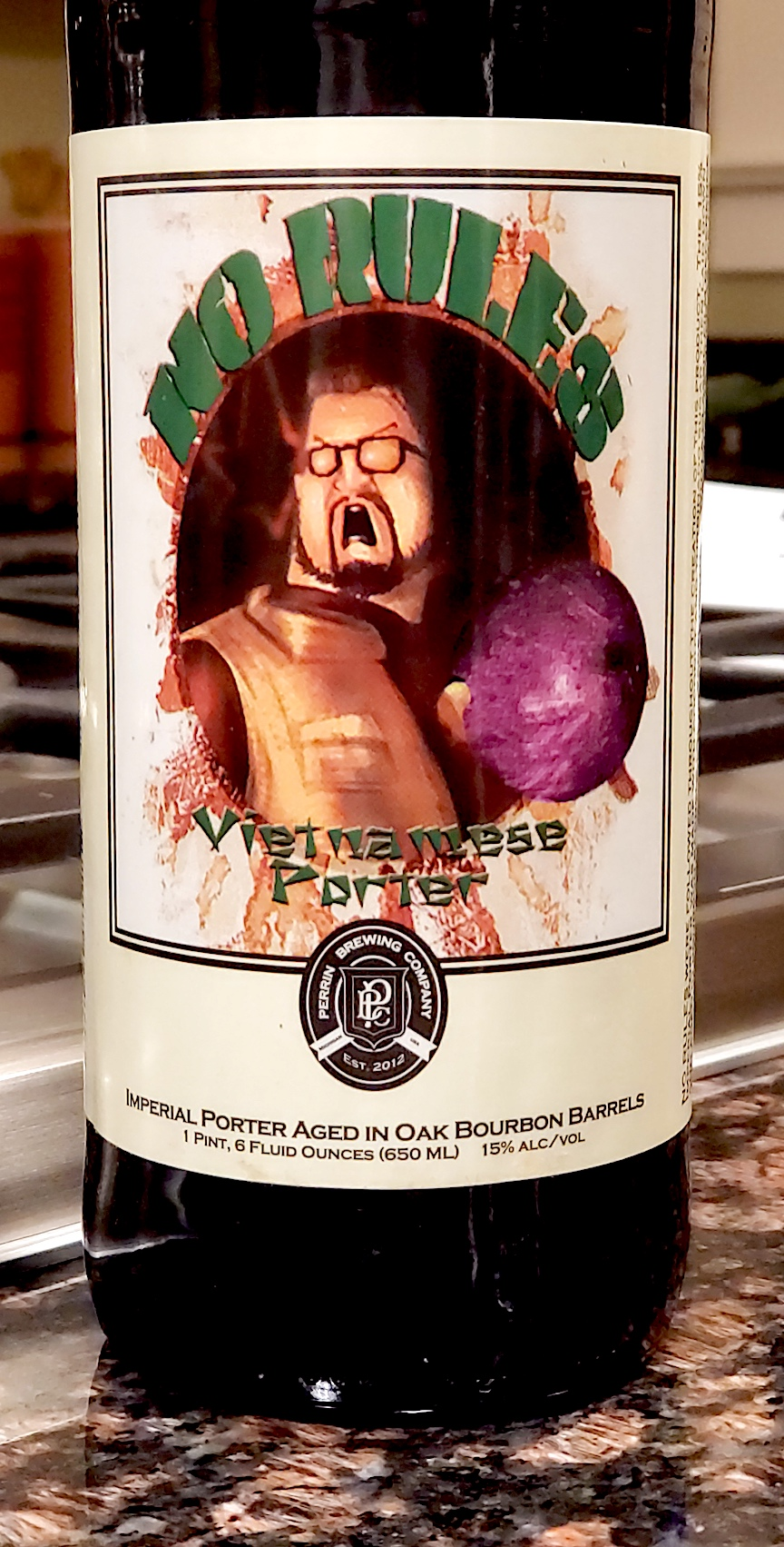 No Rules Vietnamese Porter Perrin Brewing