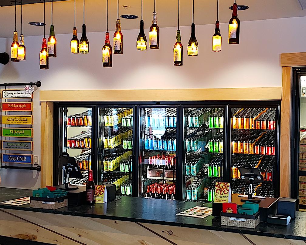 Lawson's Finest Liquids Retail Space Waitsfield, Vermont